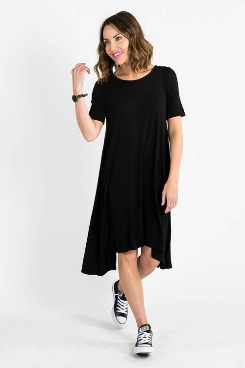 Small Agnes & Dora™ Sway Dress Black
