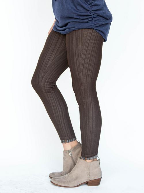 XS Agnes & Dora™ Knit Jeggings Olive