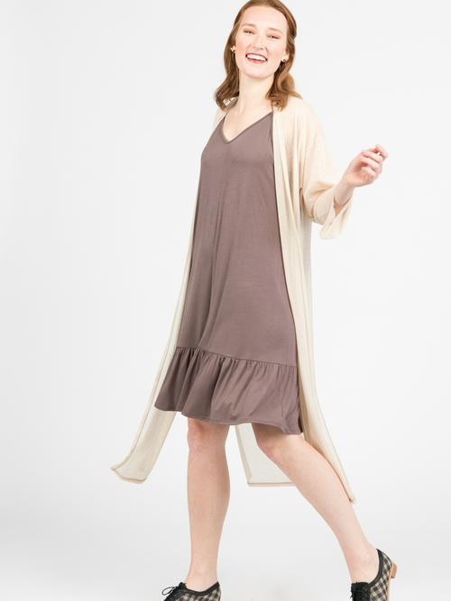 XXS Agnes & Dora™ Slip Dress Cocoa