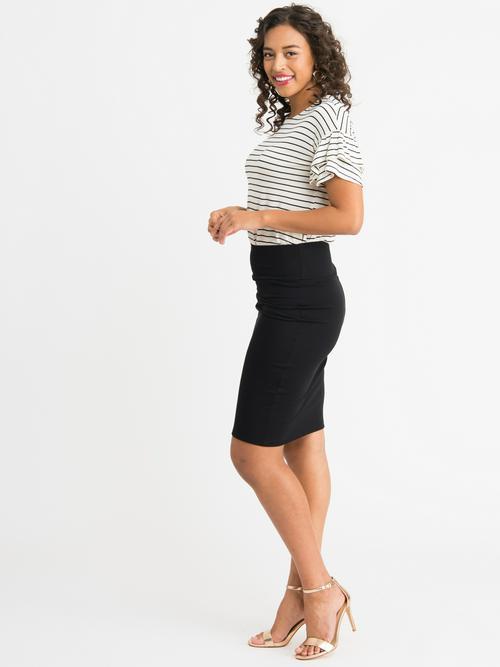 XS Agnes & Dora™ Pencil Skirt Black